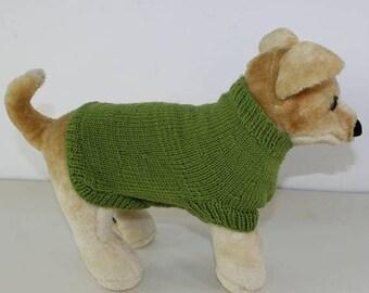 50% OFF SALE madmonkeyknits - Dog Coat CIRCULAR knitting pattern pdf download - Instant Digital File pdf knitting pattern