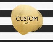 CUSTOM ORDER (10) diy kits