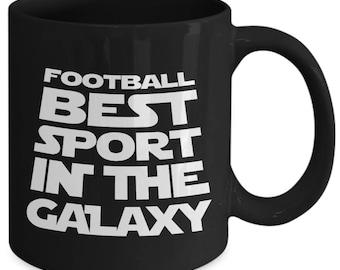 Football Best Sport In The Galaxy Gridiron Coffee Mug