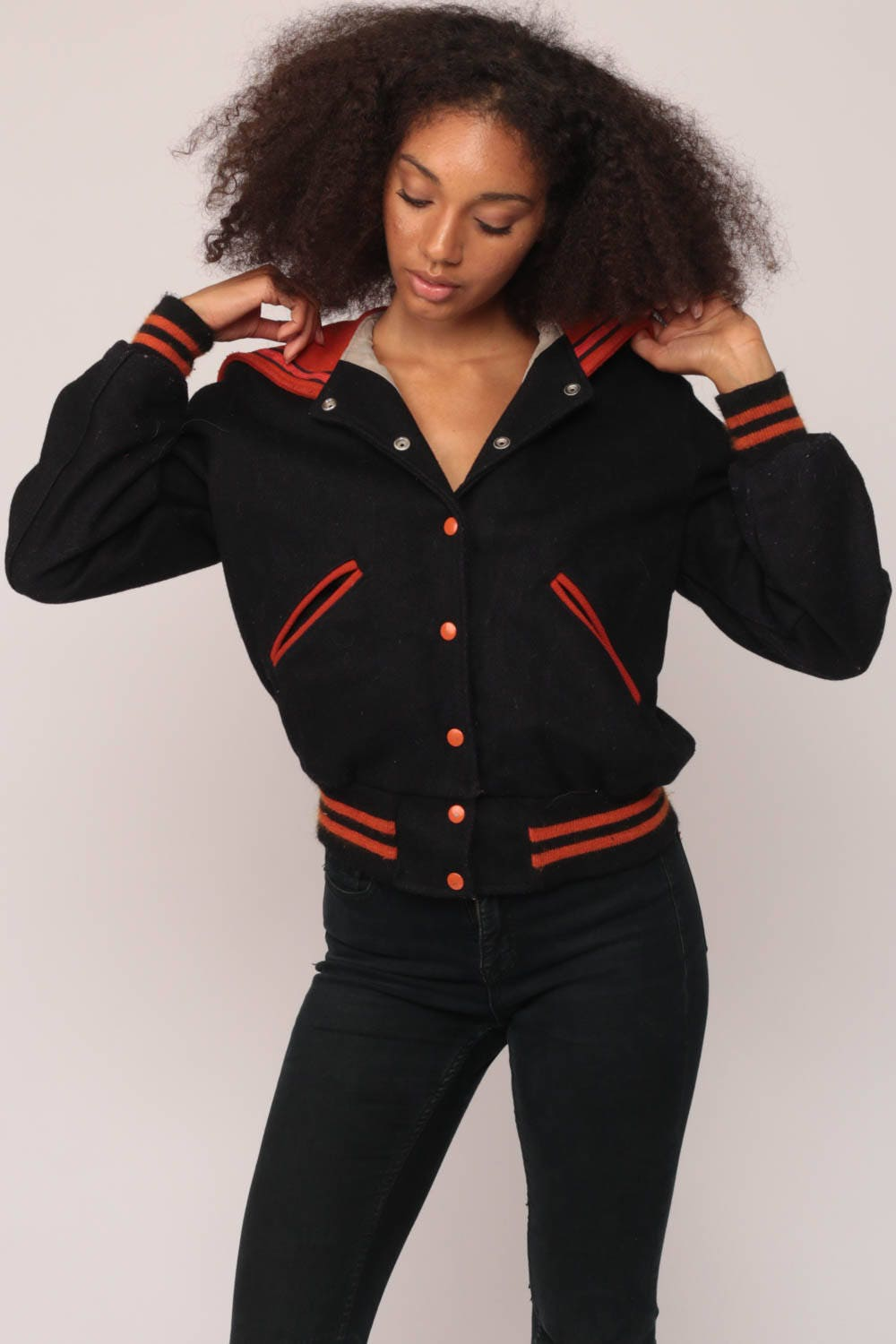 Varsity Jacket Wool 70s Black Letterman Sailor Marching Pants For Sales And Promotions Follow Us Here Instagram Shopexile Facebookcom