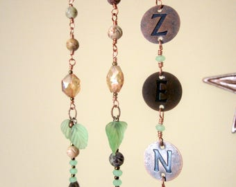 ZEN Beaded Hanging Mobile Wind Chime Sun Catcher