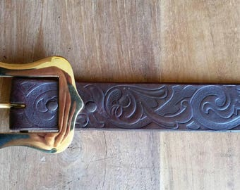 Brass buckle 24mm full brass cast larp western westworld Game of thrones man medieval costume warcraft cosplay brown cowboy adventurer