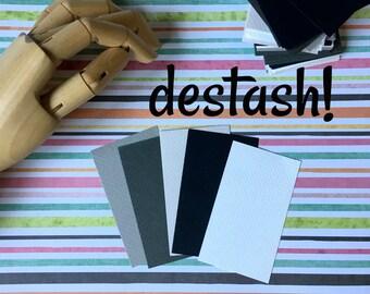 DESTASH ... 100+ Strathmore Gray Scale Business Card Blanks Etsy Seller Supplies Acid Free Linen Texture Black White Gray Stamp Your Design