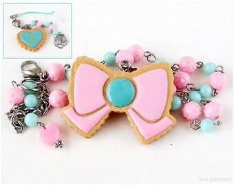 Sailor Jupiter Pastel Jewelry Set, Mint Green, Pink, Fairy Kei, Kawaii, Mahou Kei, Cosplay