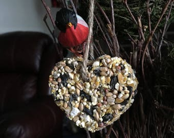 Wild Birdseed Hearts Wedding Favors