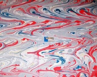 marbled paper, bookbinding,  cm 50 x 70   papier  marbrè,  ebru - 6036