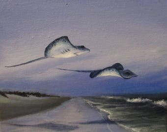 Going Home Again - original painting by Kellie Marian Hill