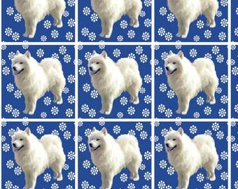 Samoyed quilt squares