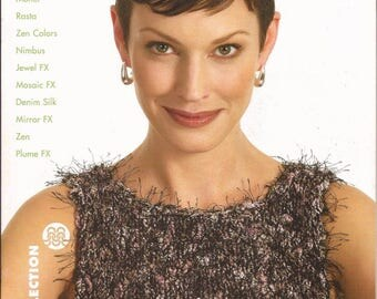 Berroco Knitting Pattern Book #216 Color & Texture Women Spring and Summer Designs