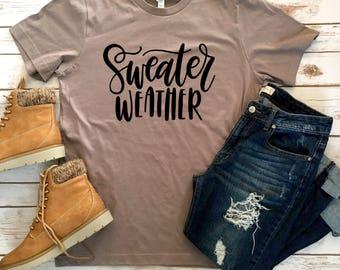 Sweater Weather Tee