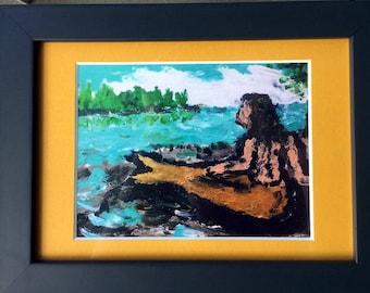 Framed Mermaid Print