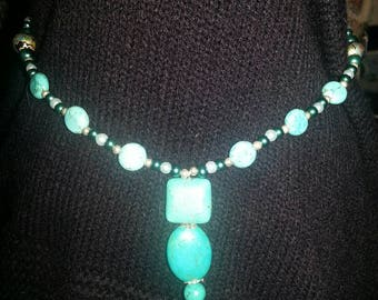 Handmade OOAK #26 beaded necklace