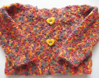 MULTICOLOR BABY SWEATER