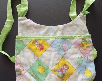 SALE Vtg 1983 Cabbage Patch Doll Back Pack Sling Carrier  CPK Accessory