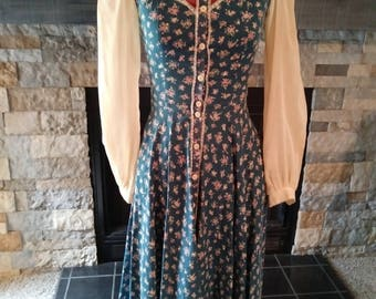 Vintage 70s Gunne Sax by Jessica Boho Festival Dress