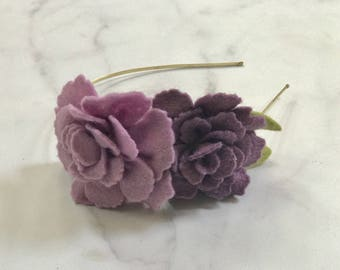Purple and Dusty Rose