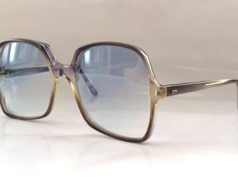 70s Funky Square Frame Sunglasses