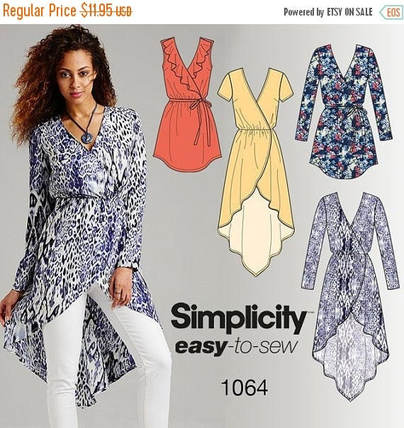 Gorgeous Womens Tunic Tops-- Multi Sz-- Buyers Choice -- UNCUT Pattern -- 20-50% off Pattern n Books SALE