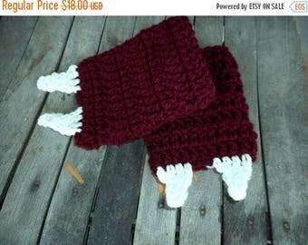 SALE Vampire Teeth Fingerless Gloves. Handmade Crochet Arm Warmers. Dracula Fangs. Vampire Teeth. Carpathian Lore