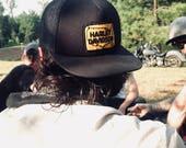 Handmade Harley Davidson Patch Hat