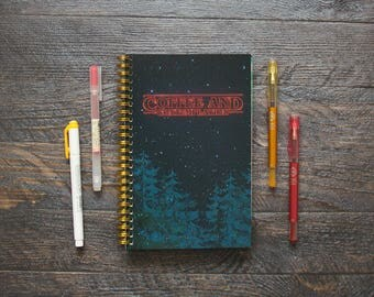 Medium Weekly Planner (180-Pages) | 12 Months | Stranger Things Planner