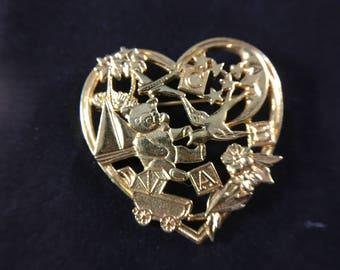 Heart Pin, Pin, Jewelry, Valentine, Valentine Gift, Brooche