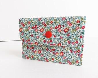 Liberty Lawn 'Eloise B' Small Snap Wallet