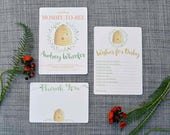 Custom Listing for Eryn - Printable Bee Baby Shower Collection