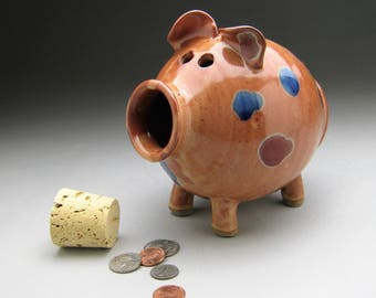 Adult piggy bank etsy - Jumbo piggy banks for adults ...