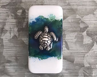 Turtle Art Domino Magnet