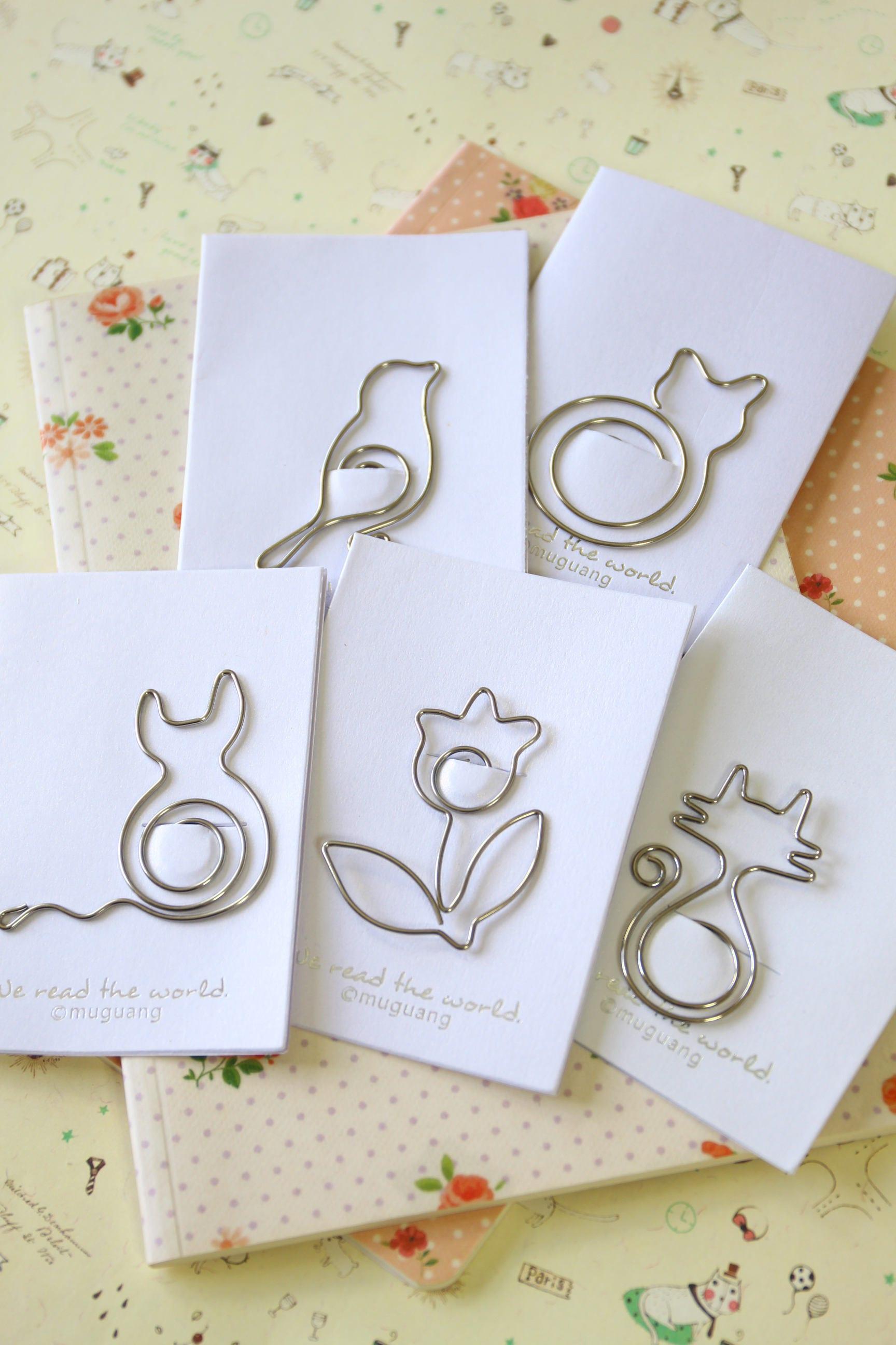 Bird Mini Shapes paper clips bookmarks [E10261624442122032M] - $3.00 ...