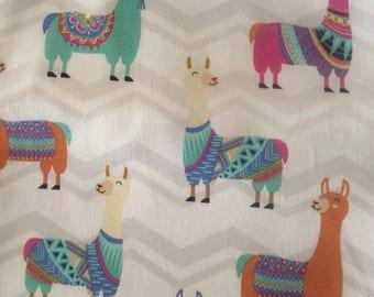 Lama Love fabric 1 yard