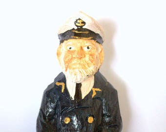 Small Point Sea Captain Figurine