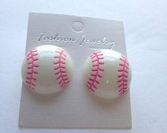 BIG Clearance Sale Sports Baseball Softball Post Earrings