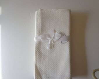 White Linen Table Napkins - White napkins - White Cloth Napkins - Vintage Dinner Napkins - Antique Linen Napkins - Napkins - Cloth Napkins