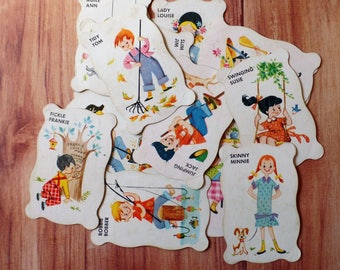 FREE SHIPPING Vintage Old Maid Cards