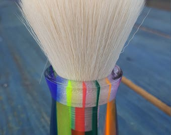 Prism Acrylic 26mm Synthetic Cashmere Shaving Brush, Chunky Handled, 26 mm