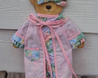 """The Applegates Pajama Outfit by Applause, Outfit For 15"""" Kate Applegate Bear"""