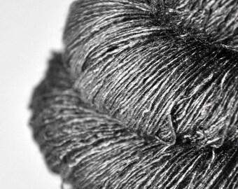 Crumbled Eiffel Tower - Tussah Silk Lace Yarn