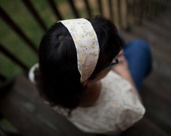 Yellow Cherry Blossom Headband