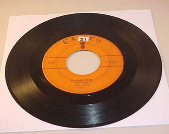 The Rays 45 Vinyl Record - Silhouettes / Daddy Cool