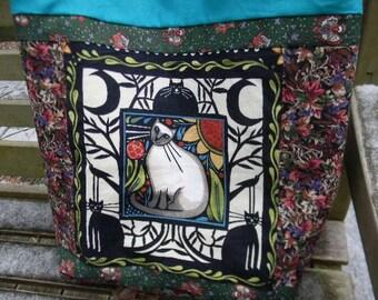 Julie Paschkis Catkin Market Bag