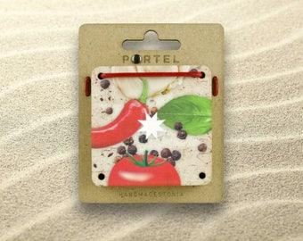 Nine Cards Puzzle - - PORTELPUZZLE 008 - - ITALIAN CUISINE