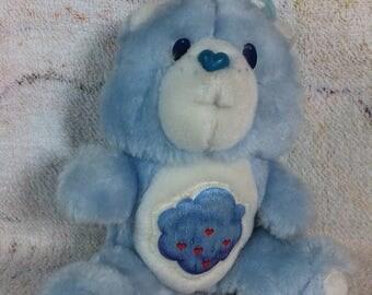 15% OFF Vintage Mini Care Bears Grumpy Bear Plush Stuffed Animal Retro 80s Kids Toys