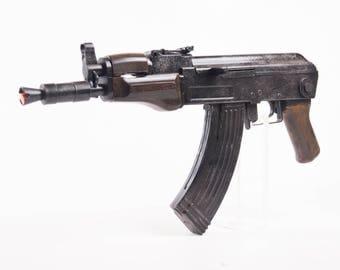 1 : 1 scale AK 74u prop gun - movie film