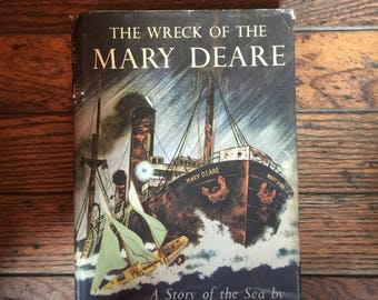 Vintage 1956 The Wreck of the Mary Deare Book Hammond Innes