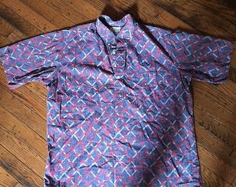 Vintage Reyn Spooner Hawaiian Shirt Sz M