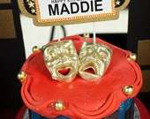 Broadway Birthday Cake Topper Broadway Marquee- CUSTOMIZED