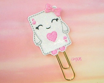 Ace of Hearts Cutie Glitter Paperclip Planner Clip