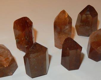 Rutilated Quartz Crystal - polished